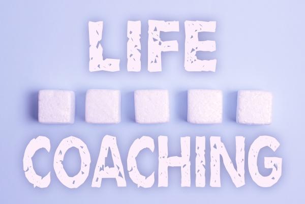 text showing inspiration life coaching internet